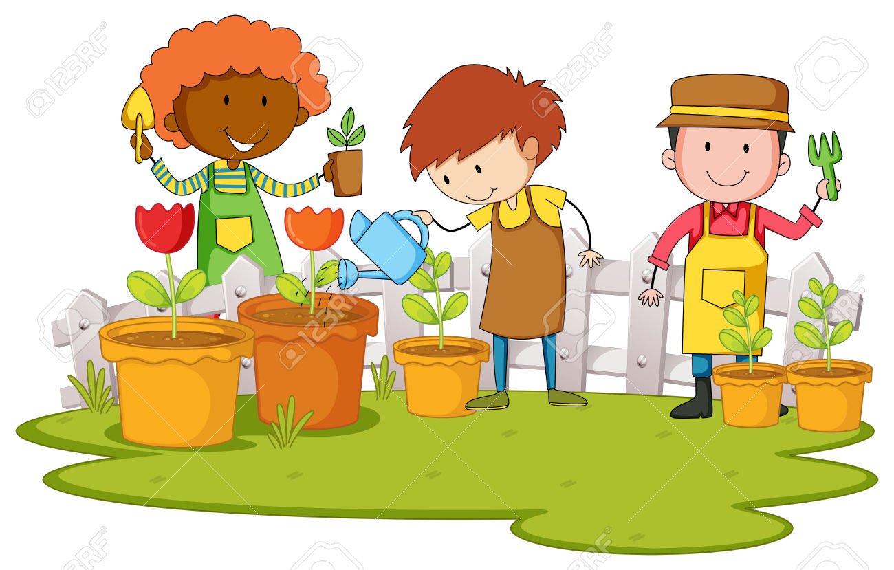 24+ Planting Clipart.