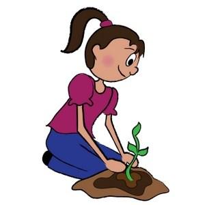 Planting flowers clipart 3 » Clipart Portal.