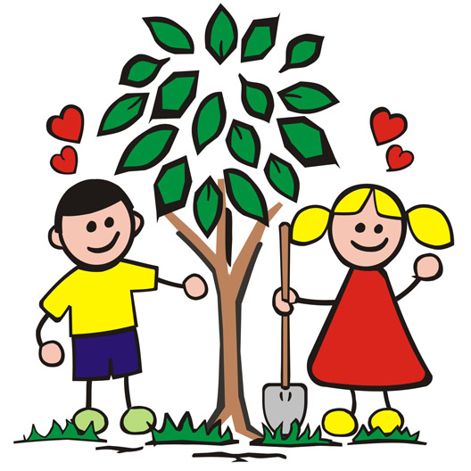 Planting trees clipart 1 » Clipart Station.