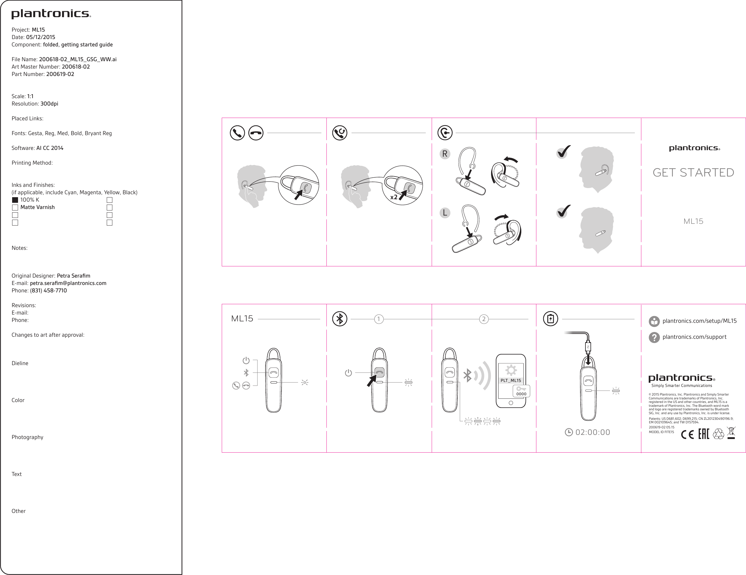 FITE15 Bluetooth headset User Manual 200618.