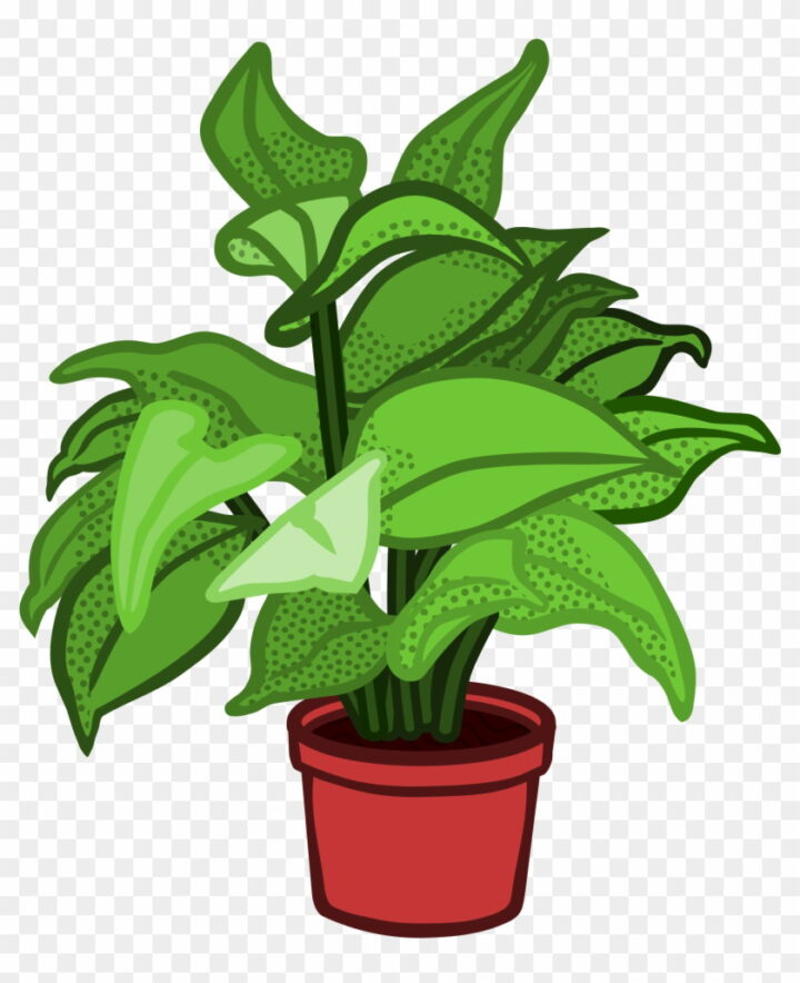 Related Potted Plants Clipart Potted Plant Clipart Image.