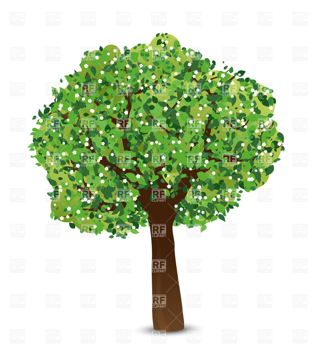 Spring Tree Free Clipart.