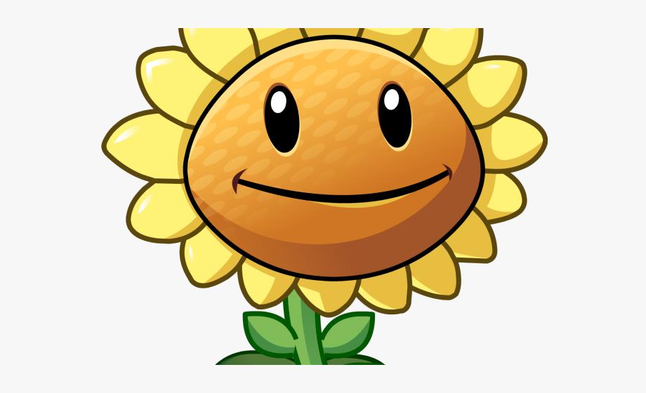 Plants Vs Zombies Clipart Big Sunflower.