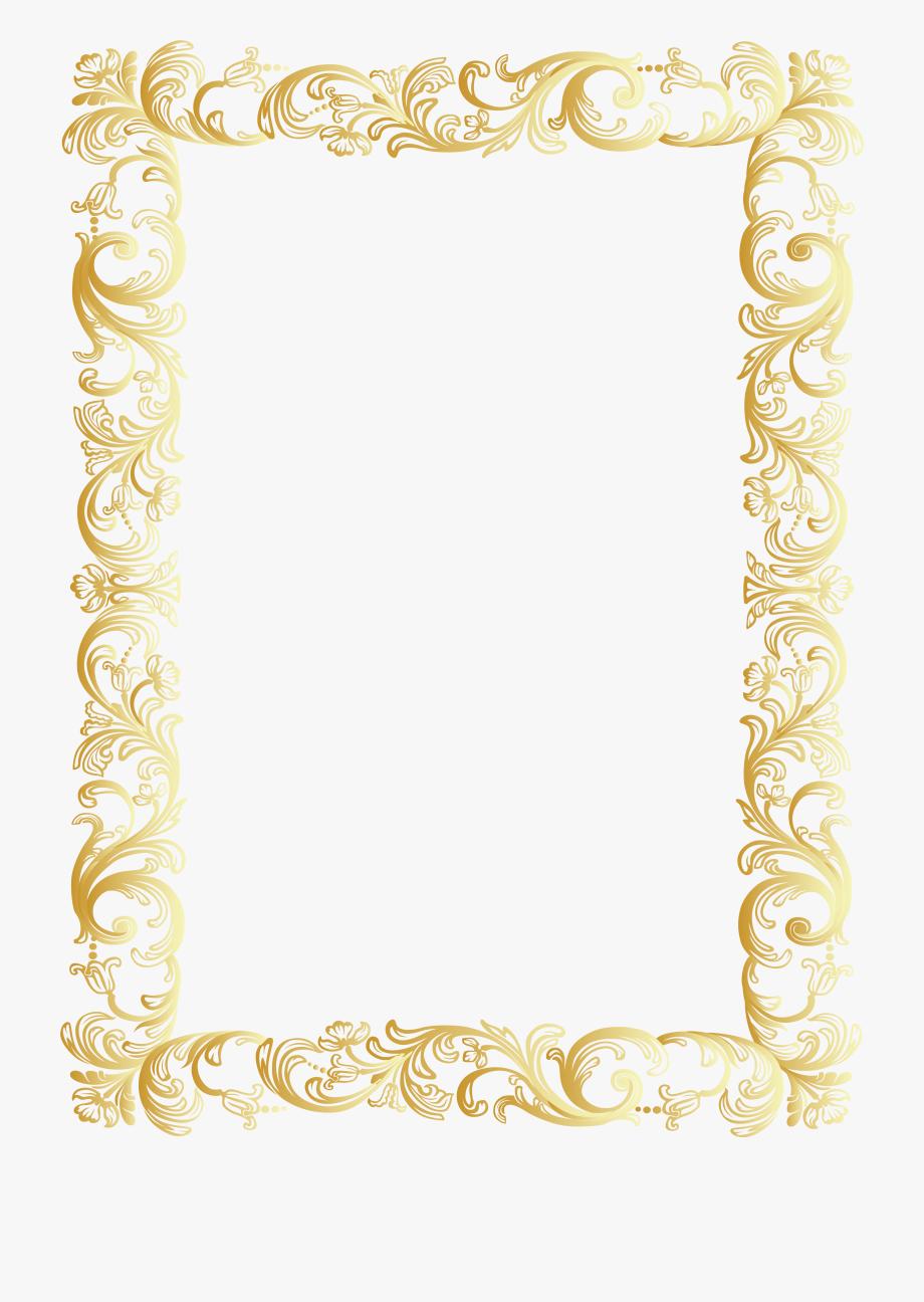 Plaque Clipart Classic Frame.