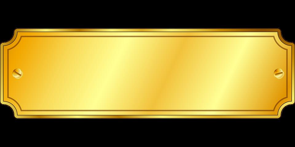 Plaque Clipart Png.