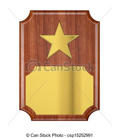 Award Plaque Clipart.