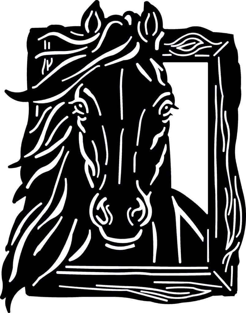 HORSE DXF PLASMA ROUTER LASER Cut.
