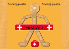Sticking Plaster Stock Illustrations.