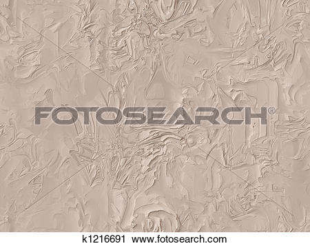 Clipart of pink textured plaster of paris k1216691.