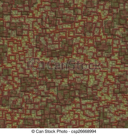 Stock Illustration of Relief plaster seamless generated texture.