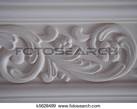 Stock Photograph of Plaster cast k5628499.