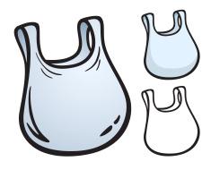 Plastic Bag Clip Art.