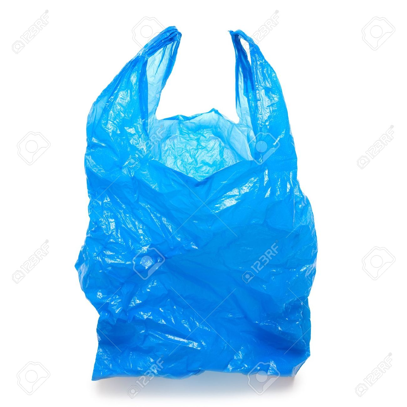 Clear plastic bag clipart.