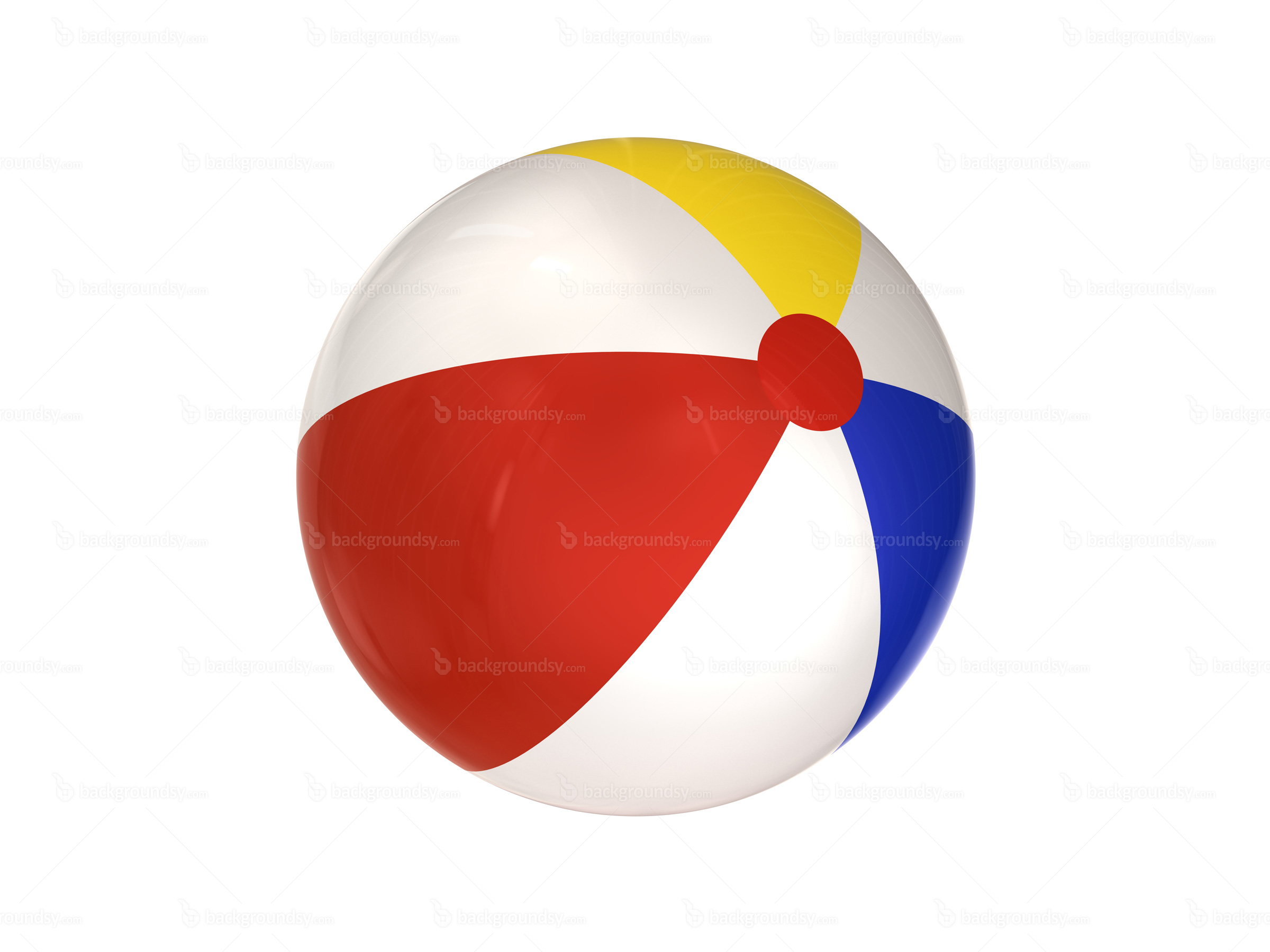 Colored Golf Ball Clipart.