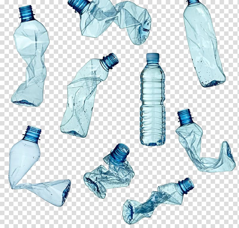 Plastic bottle Recycling Waste, Recycled plastic bottles.