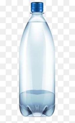 Plastic Bottle, Plastic Bottle, Mineral #53130.