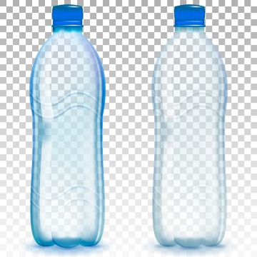 Plastic Water Bottle Png, Vector, PSD, and Clipart With.