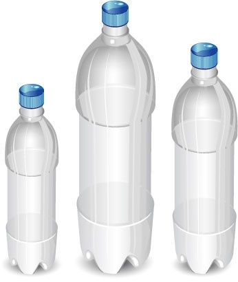Plastic Bottles Clipart.