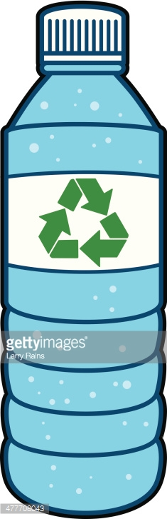 Plastic Bottles With Water, Plastic Bottle Free Clipart.