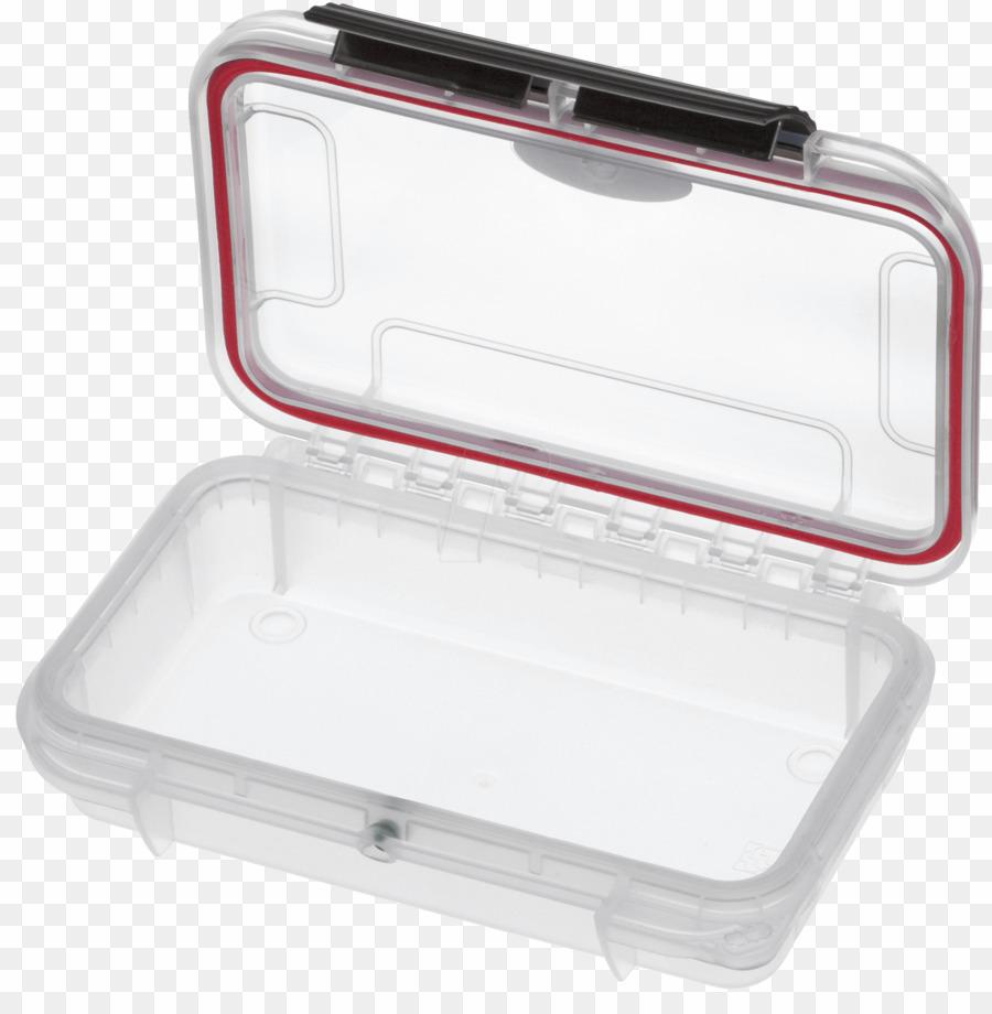 Caja Estanca Transparente PNG Box Plastic Clipart download.