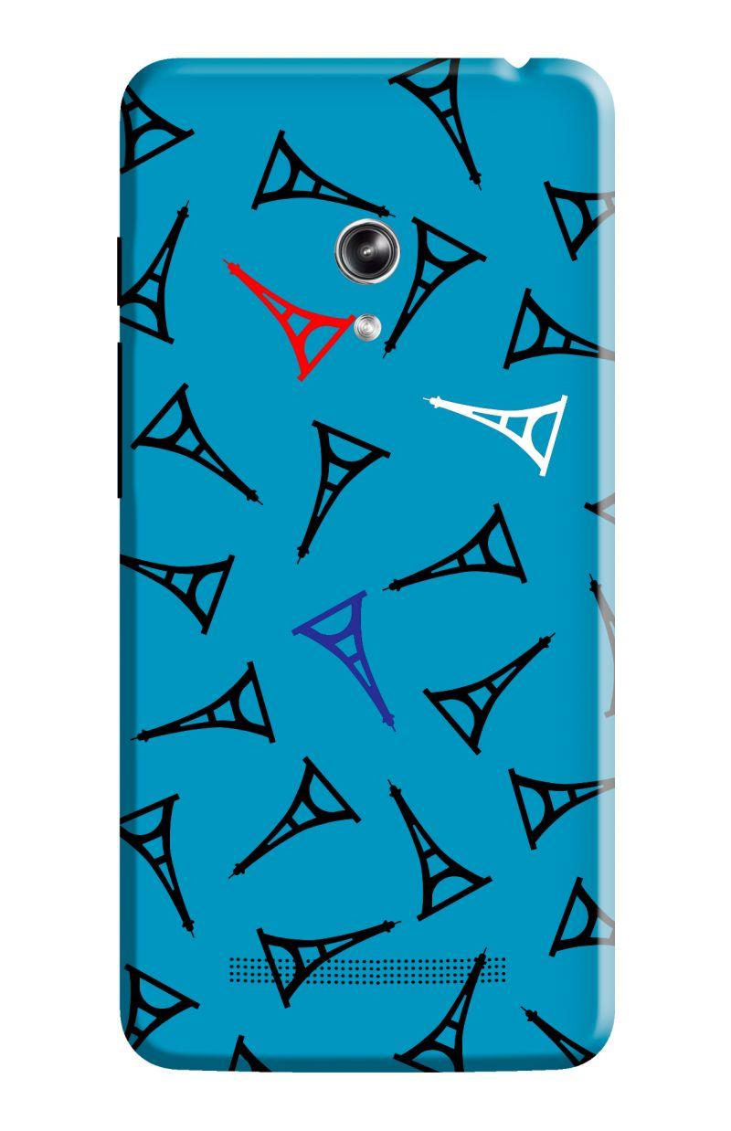 Buy Kanvas Cases Paris Clipart Pattern Plastic Case For Asus.