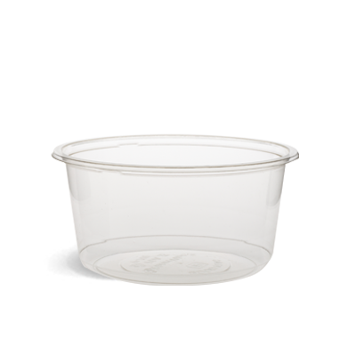 500ml Clear PLA Round Container.