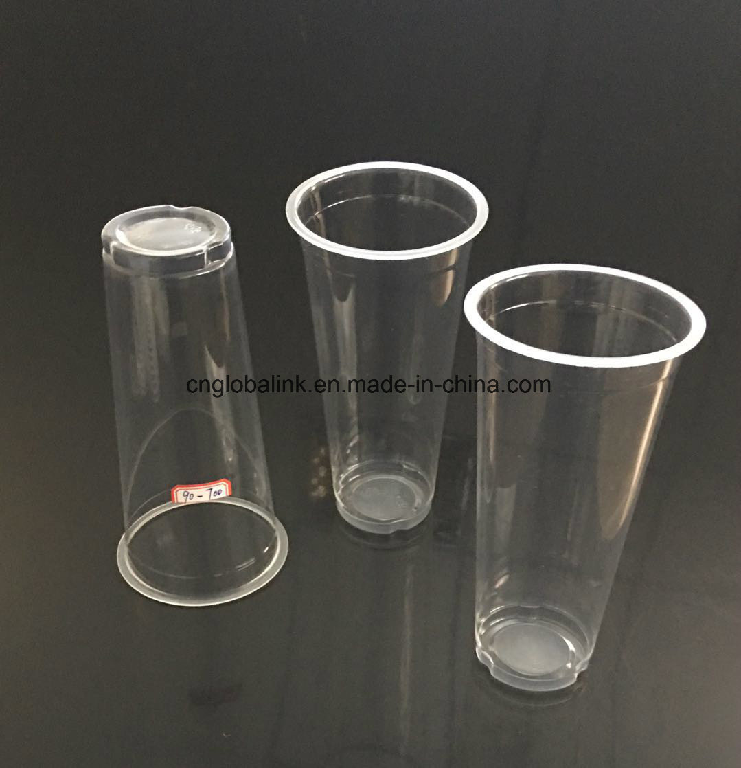 [Hot Item] Good Quality Disposable Plastic Cups Drink Cups with Logo  Printing 700ml.