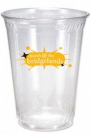 Personalized eco friendly clear plastic cups, printed cups.