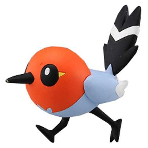"""2013 Fletchling Tomy 2"""" Monster Collection Plastic Figure MC."""