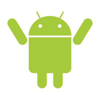 Android Robot Plastic Figurine transparent PNG.