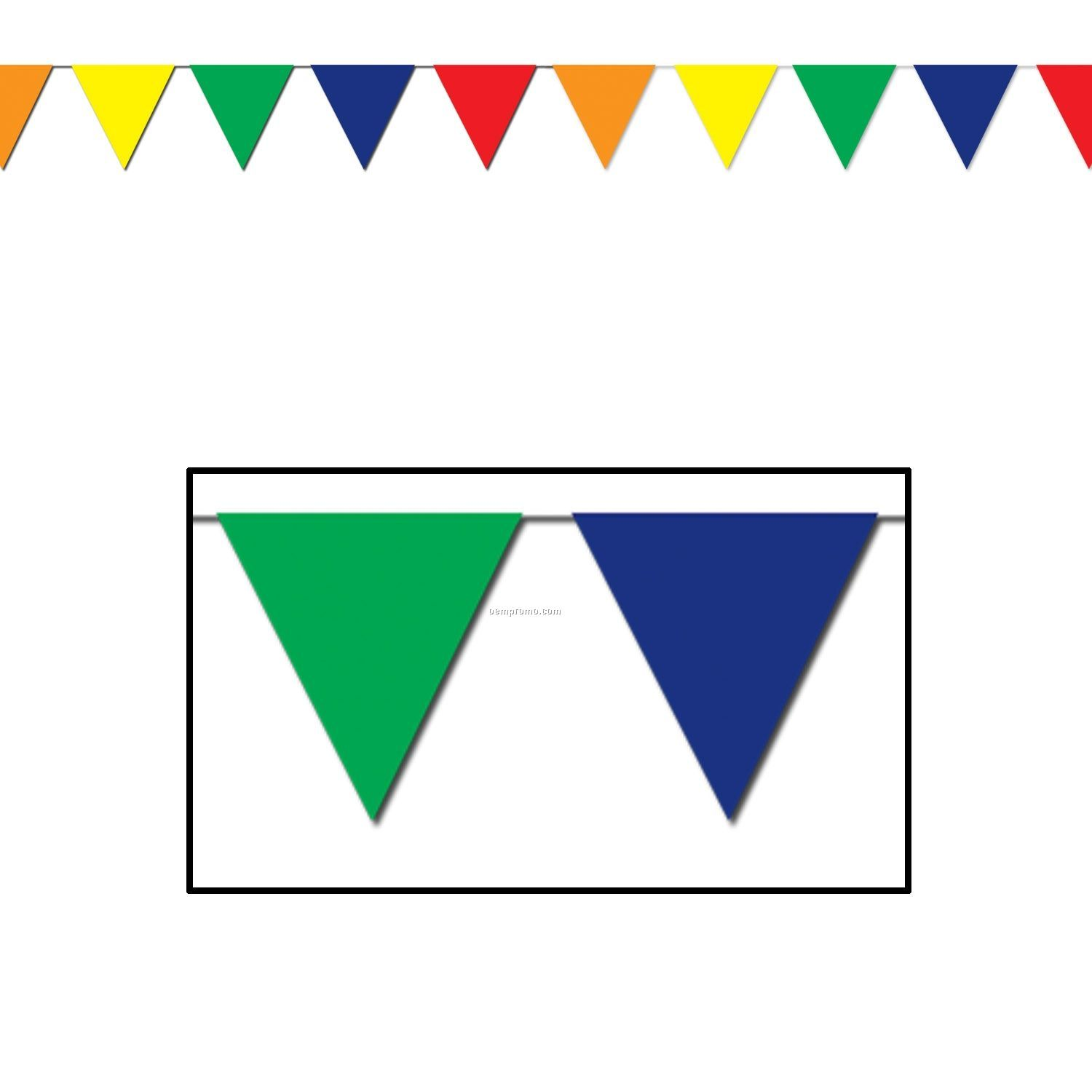 Triangle Flags Banner : Tokinoha.info.