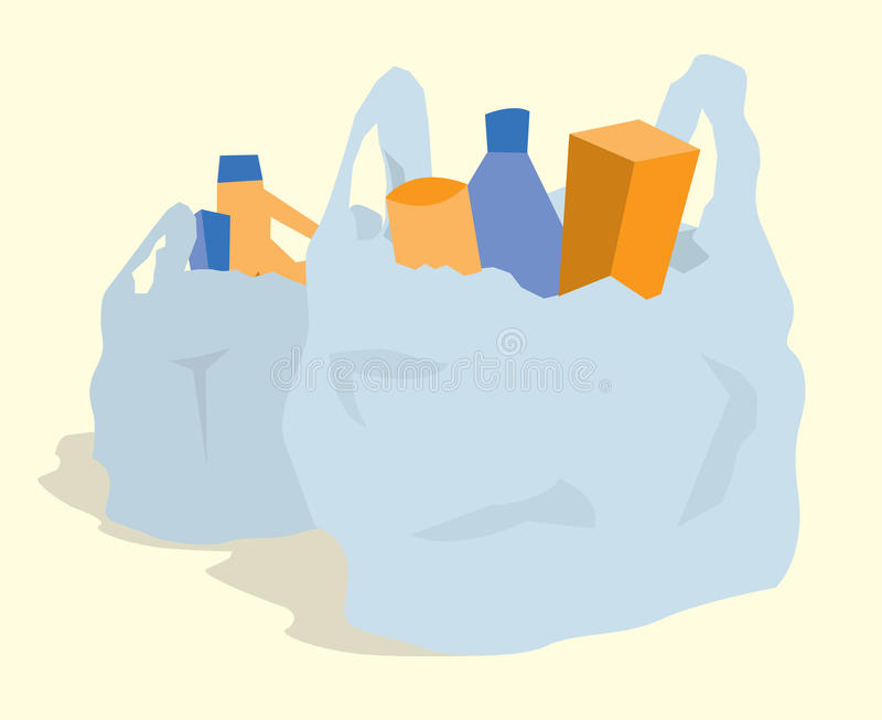 Collection of free Groceries clipart plastic shopping bag.