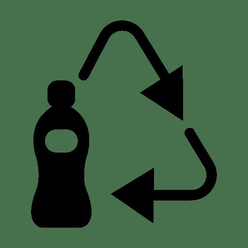 Recycle icon plastic.svg.