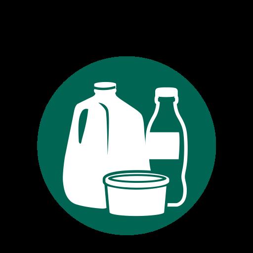 Kitchen, plastic bottles, plastic milk jugs, plastics.