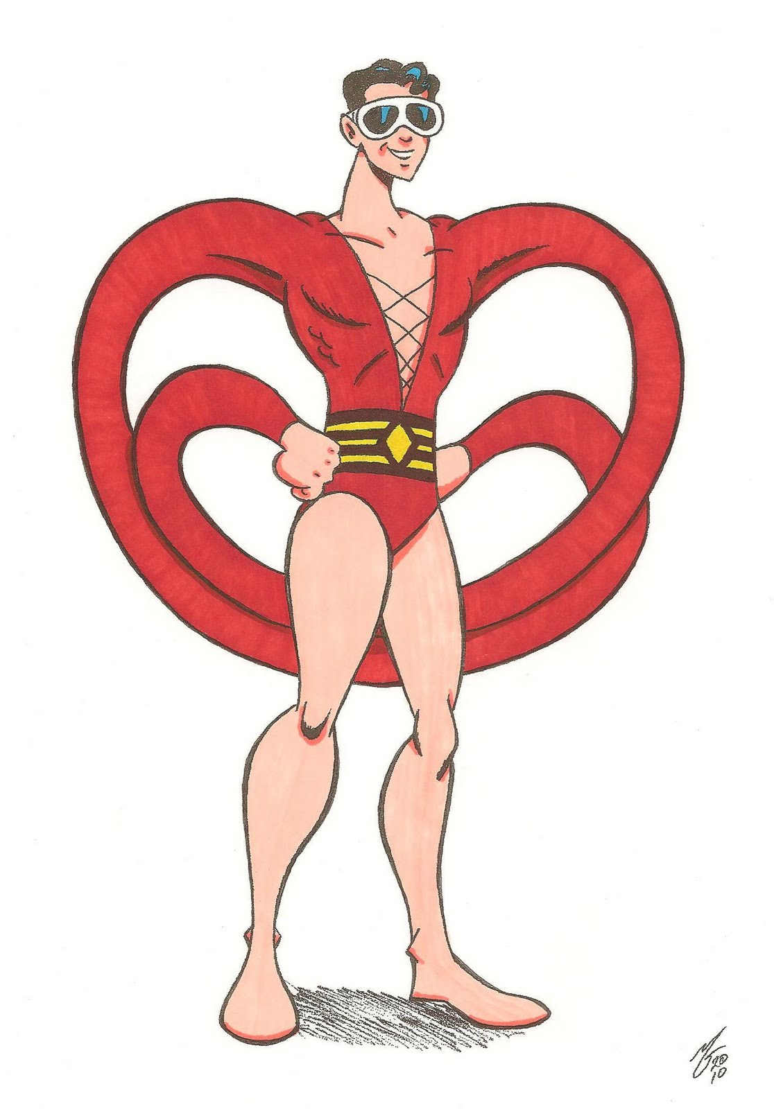 Plastic Man screenshots, images and pictures.