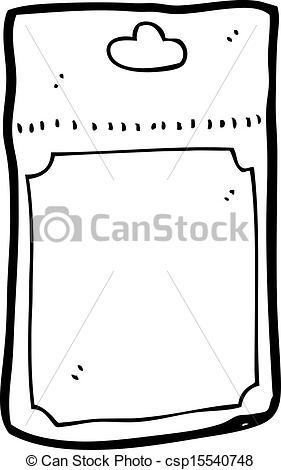 EPS Vector of cartoon plastic packaging csp15540748.