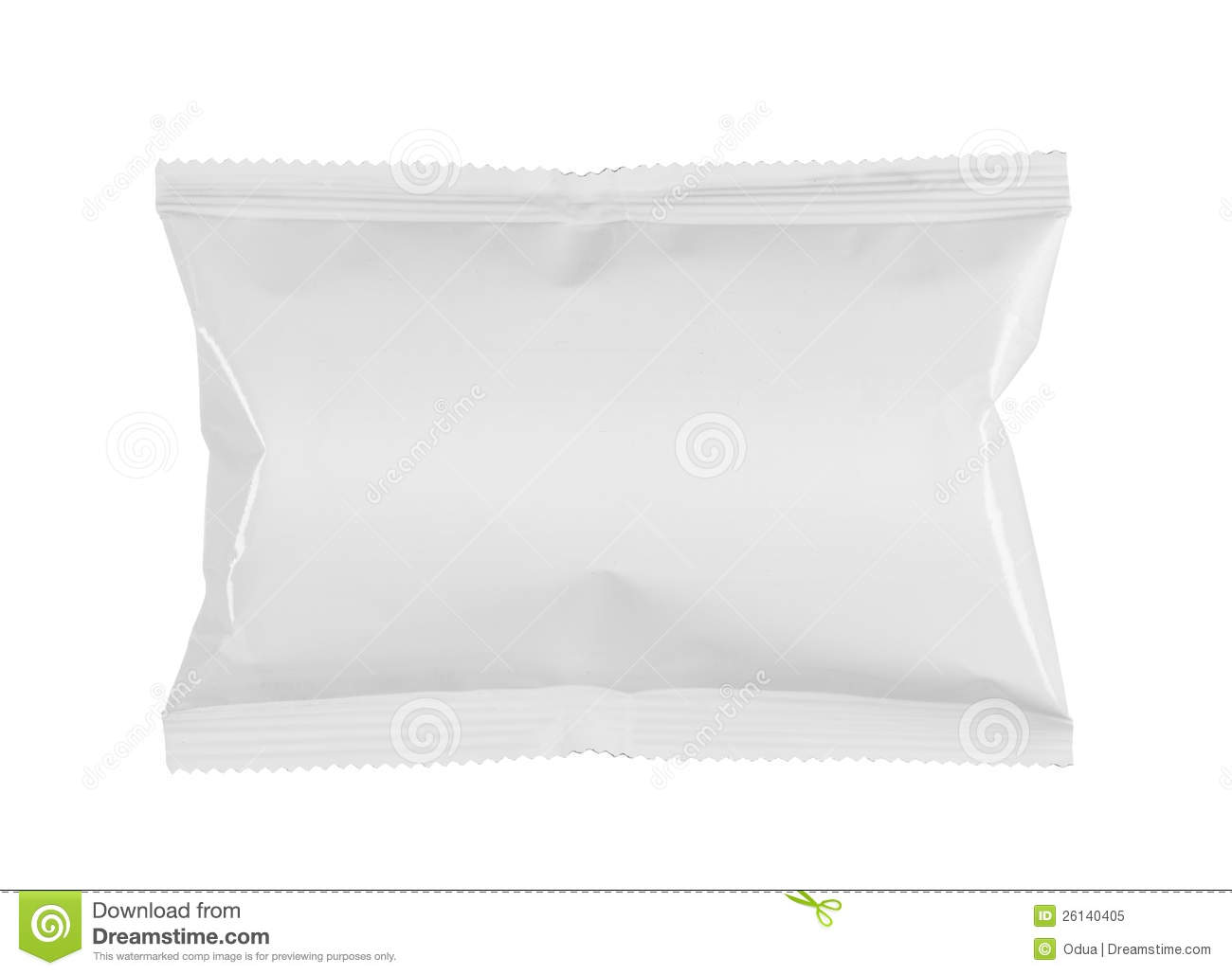 Snack Product Plastic Packaging Royalty Free Stock Photo.