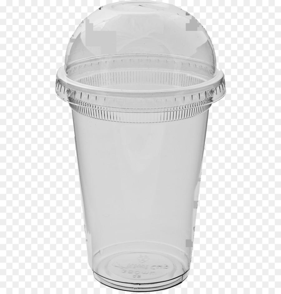 Smoothie Lid Plastic Cup.