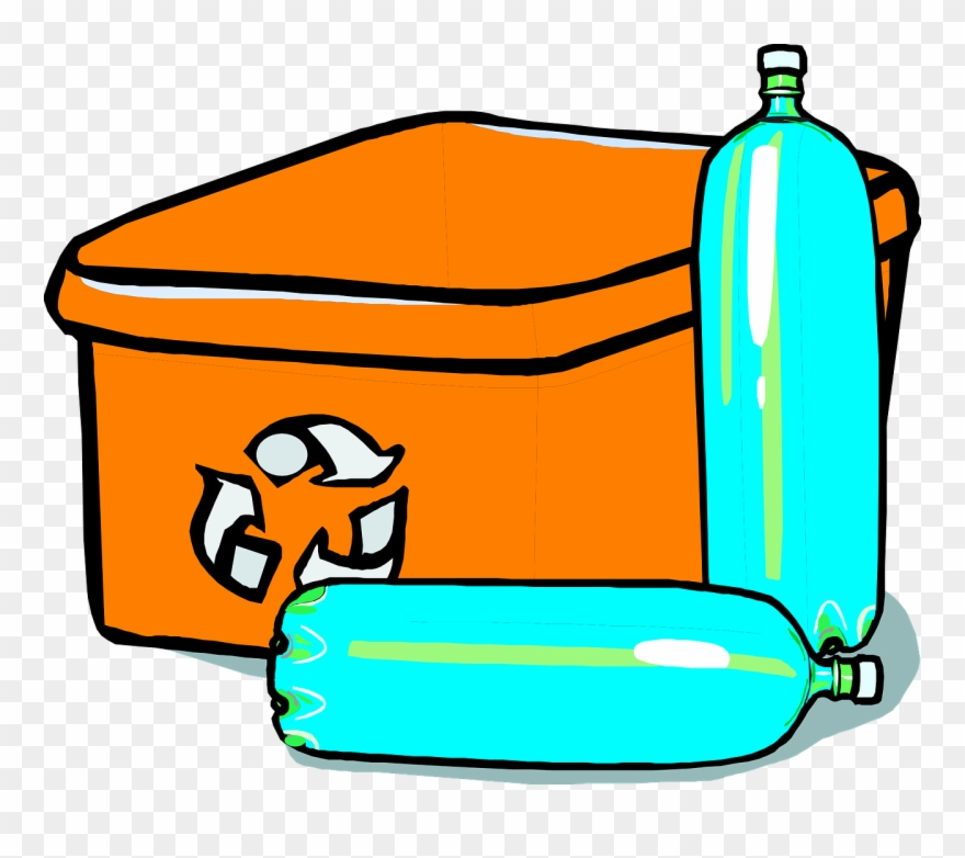 Plastic Bottle Recycling Clipart.