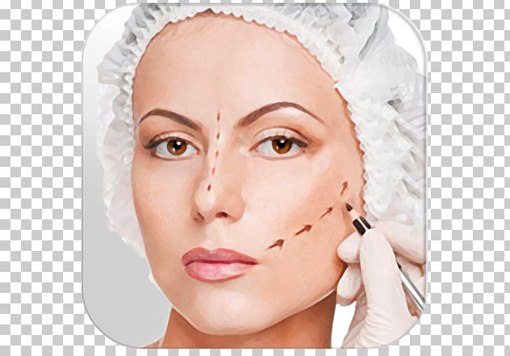 Plastic Surgery Aesthetic Medicine Blepharoplasty PNG.