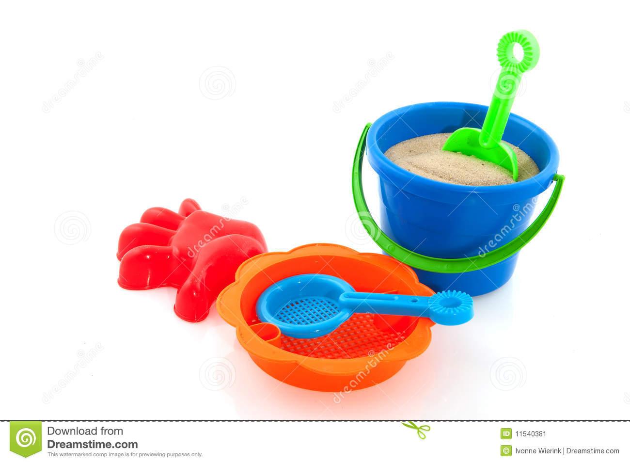 Sand Toys Clipart.