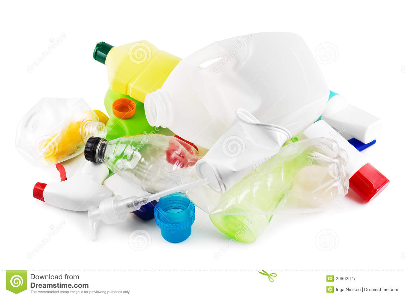 Plastic Garbage Royalty Free Stock Photography.