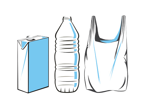 Plastic waste clipart - Clipground