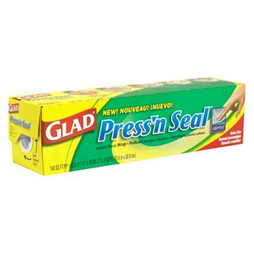 Amazon.com: Glad Sealable Plastic Wrap with Griptex, Value Size.