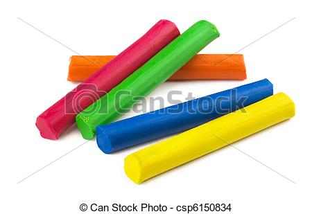 Stock Photo of Plasticine.
