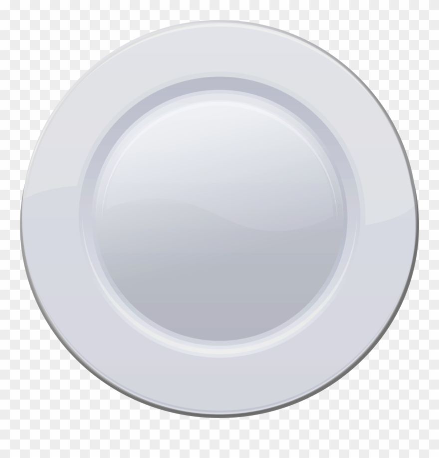 Whie Plate Png Clip Art Transparent Png (#907596).