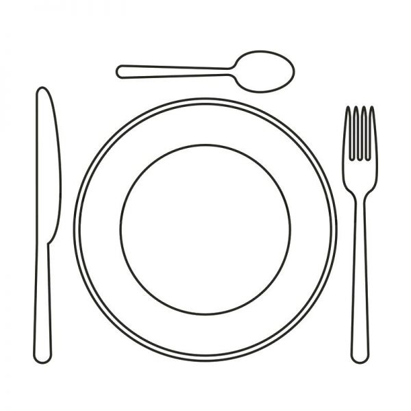 Collection Of Free Dining Clipart Palte. Download On Ubisafe.