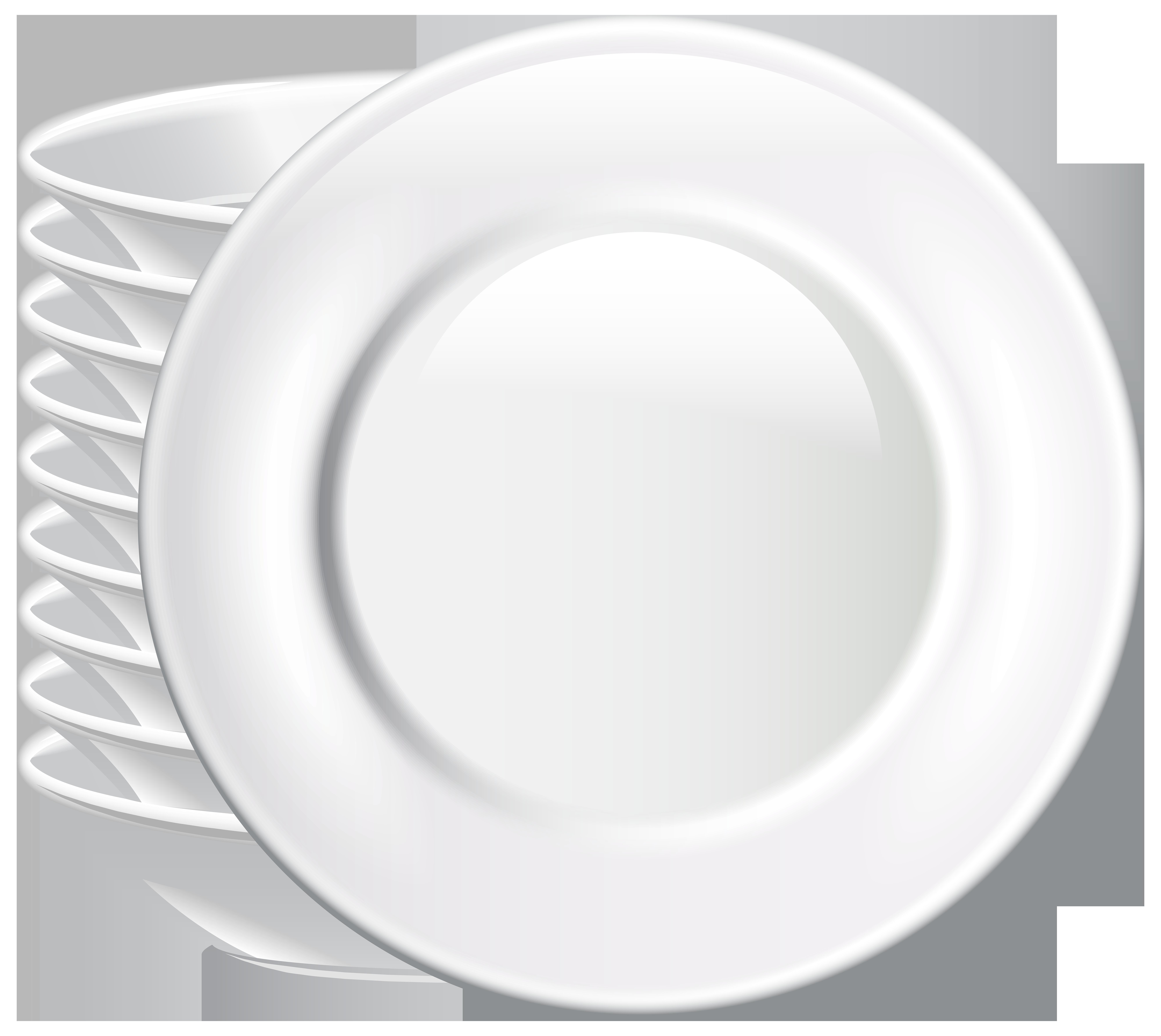 Plates PNG Clip Art.