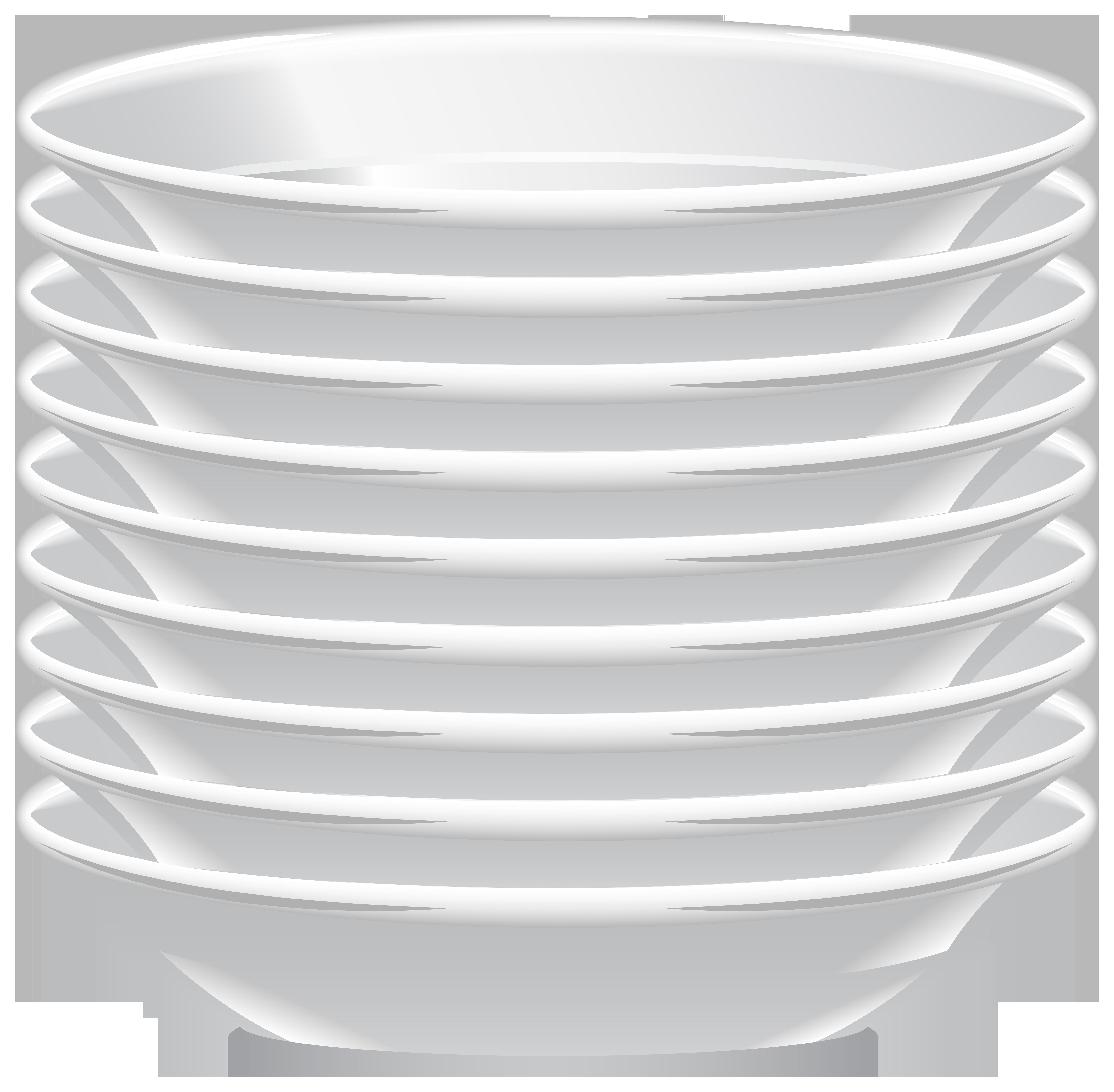 Soup Plates PNG Clip Art.