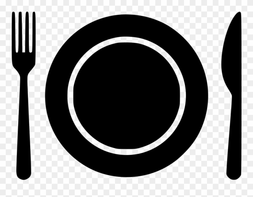 Plate Icon Png Clipart Fork Clip Art.